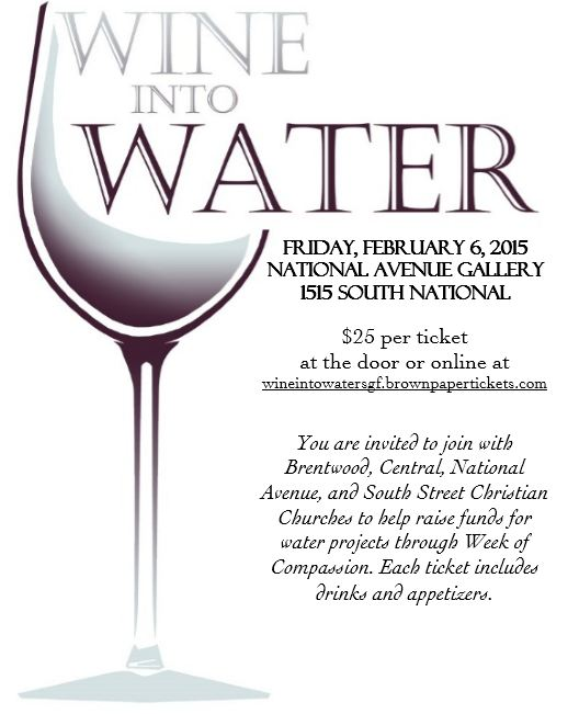 wine into water 2015