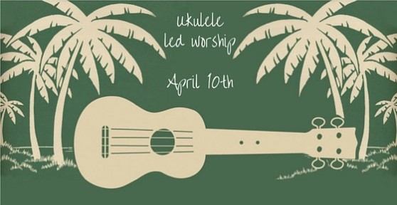 Ukulele led worship