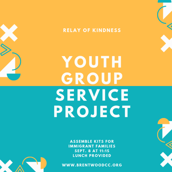 Copy of Youth group service project
