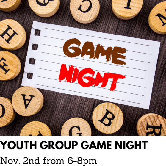 YOUTH GROUP GAME NIGHT