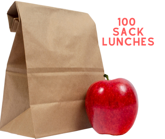 100 Sack Lunches